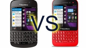 blackberry q5 vs Q10