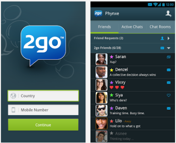 picture of 2go for Android