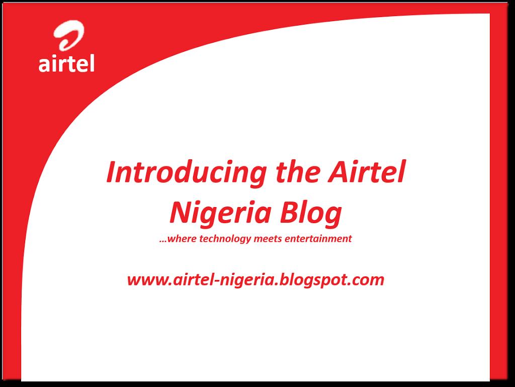 Airtel Nigerian Blog