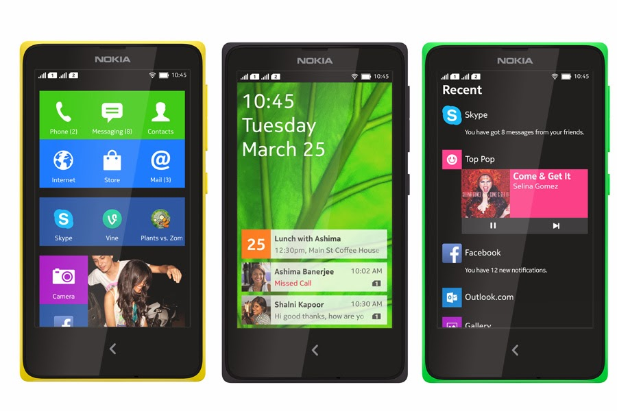 Nokia X Android Phones pictures