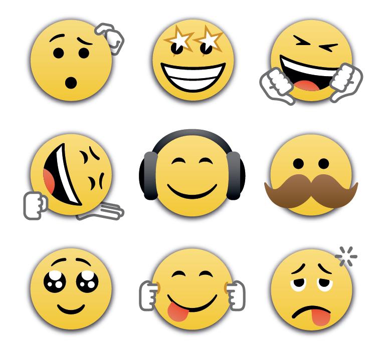 bbm8 emojis