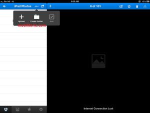 drobox iPad app