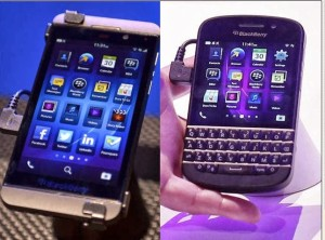 pictures of BB z10 and Q10