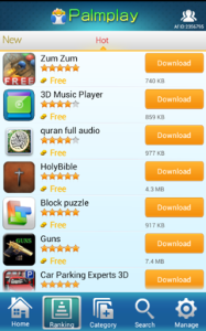 palmplay apps