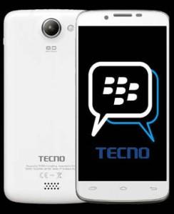 Tecno with BBM